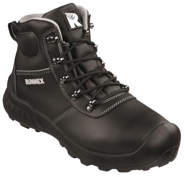 BIG-ruNNex-S3-Sicherheitsschnürstiefel, TeamStar, ESD, schwarz/grau