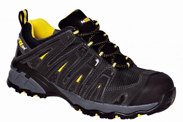 BIG-TEXXOR-S1-Sicherheits-Arbeits-Berufs-Schuhe, Halbschuhe, Lyon, schwarz/gelb