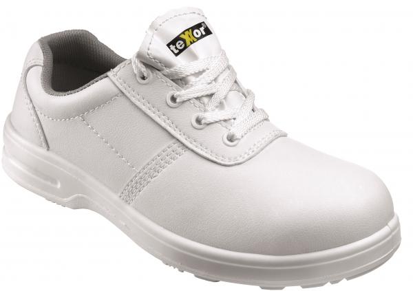 BIG-TEXXOR-S2-Sicherheits-Arbeits-Berufs-Schuhe, Halbschuhe, Nancy, weiß