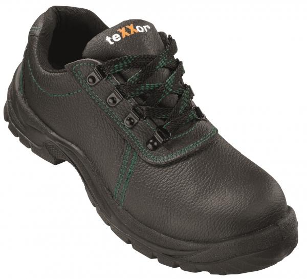 BIG-TEXXOR-S3-Sicherheits-Arbeits-Berufs-Schuhe, Halbschuhe, Marseille, schwarz/grün