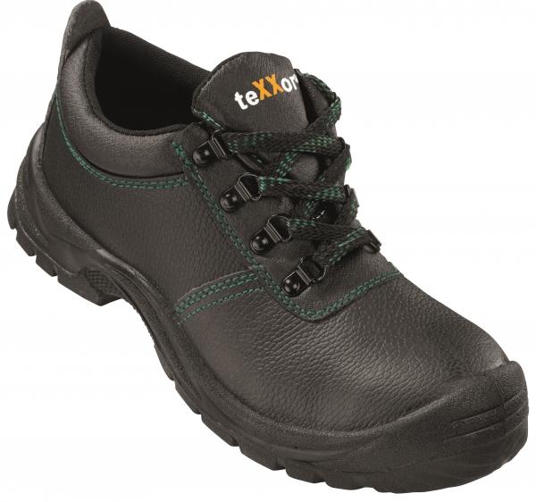 BIG-TEXXOR-S3-Sicherheits-Arbeits-Berufs-Schuhe, Halbschuhe, Auxerre, schwarz/grün