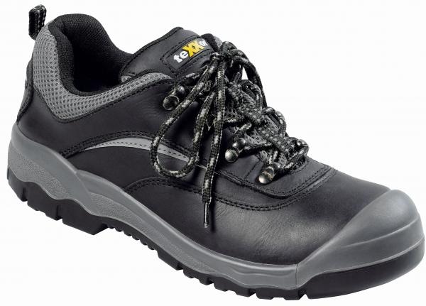 BIG-TEXXOR-S3-Sicherheits-Arbeits-Berufs-Schuhe, Halbschuhe, Perpignan, schwarz/grau