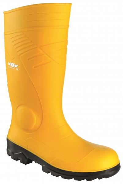 BIG-TEXXOR-S5-PVC-Sicherheits-Gummi-Stiefel, gelb