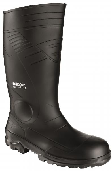 BIG-TEXXOR-S5-PVC-Sicherheits-Gummi-Stiefel, schwarz