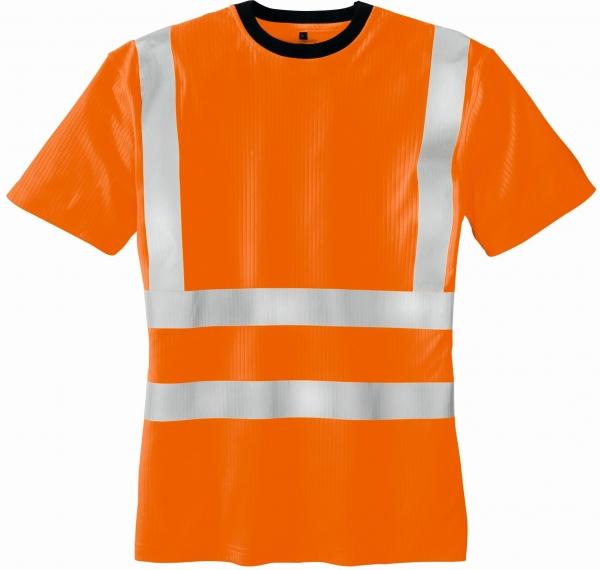 BIG-TEXXOR-Warn-Schutz-T-Shirt, Hooge, leuchtorange