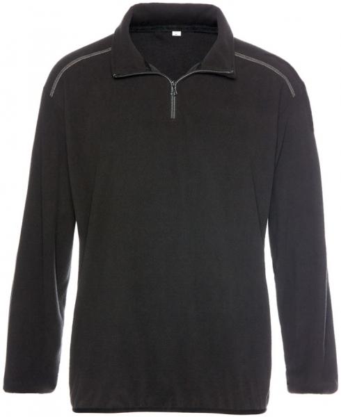 BIG-TEXXOR-Arbeits-Berufs-Micro-Fleece-Pullover, Stavanger, 160g/m², schwarz