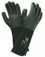 ANSELL-PVC-Arbeits-Handschuhe, Snorkel, 04-414, Grün