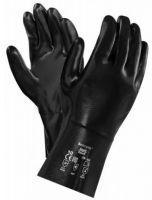 ANSELL-NEOPRENE-Arbeits-Handschuhe, NEOX, 30,5 cm, 09-022, schwarz
