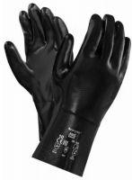 ANSELL-NEOPRENE-Arbeits-Handschuhe, NEOX, 30,5 cm, 09-922, schwarz