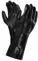 ANSELL-NEOPRENE-Arbeits-Handschuhe, NEOX, 35,5 cm, 09-924, schwarz
