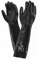ANSELL-NEOPRENE-Arbeits-Handschuhe, NEOX, 45,5 cm, 09-928, schwarz