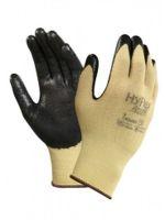 ANSELL-Schnittschutz-Arbeits-Handschuhe, Hyflex, 11-500, Schwarz/Gelb