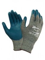 ANSELL-Schnittschutz-Arbeits-Handschuhe, Hyflex, 11-501, Blau/Grau