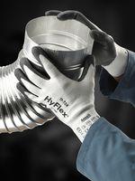 ANSELL-Schnittschutz-Arbeits-Handschuhe, Hyflex, 11-724, Weiß/Grau
