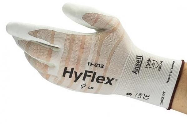 ANSELL-Arbeits-Montage-Handschuhe, HYFLEX, 11-812, Länge: 200-250 mm,