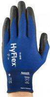 ANSELL-Arbeits-Montage-Handschuhe, HYFLEX, 11-816, blau/schwarz