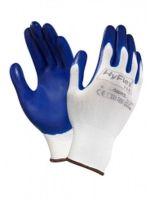 ANSELL-Arbeits-Montage-Handschuhe, Hyflex, 11-900, Weiss/Blau