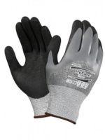 ANSELL-Schnittschutz-Arbeits-Handschuhe, Hyflex, 11-927, Grau/Schwarz