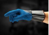 ANSELL-Schnittschutz-Arbeits-Handschuhe, Hyflex, 11-948, Blau/Schwarz