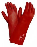 ANSELL-Chemiekalienschutz-Arbeits-Handschuhe, Pva, 15-554, Rot