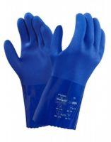 ANSELL-PVC-Arbeits-Handschuhe, Versatouch, 23-200, Blau