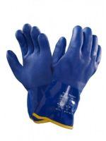 ANSELL-PVC-Arbeits-Handschuhe, Versatouch, 23-202, Blau