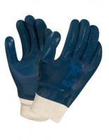 ANSELL-Nitril-Arbeits-Handschuhe, Hycron, 27-602, Blau