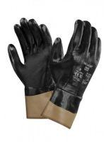 ANSELL-Nitril-Arbeits-Handschuhe, Nitrasafe, 28-359, Schwarz