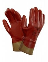 ANSELL-Nitril-Arbeits-Handschuhe, Nitrasafe, 28-360, Rotbraun