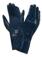 ANSELL-Nitril-Arbeits-Handschuhe, Hynit, 32-800, Blau