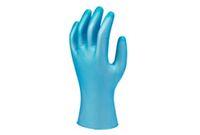 ANSELL-Einweg-Vinyl-Einmal-Handschuhe , Versatouch, 34-750, Pkg. Á 100 Stück, blau
