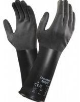ANSELL-Chemikalien-Schutz-Arbeits-Handschuhe, Chemtek, 38-520, Schwarz