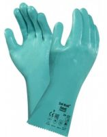 ANSELL-Nitril-Chemikalien-Schutz-Arbeits-Handschuhe, Sol-Knit, Grü