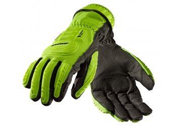 ANSELL-Schnittschutz-Arbeits-Handschuhe, ActivArmr®. 46-551, gelb/schwarz