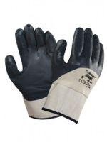 ANSELL-STRICK--Arbeits-Handschuhe, Oceanic, 48-913, Beige/Blau