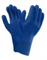 ANSELL-Latex-Arbeits-Handschuhe, Versatouch, 62-401, Blau