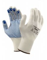 ANSELL-Strick-Arbeits-Handschuhe, Tiger Paw, 76-301, Weiss