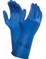 ANSELL-Nitril-Chemikalien-Schutz-Arbeits-Handschuhe, Virtex, Blau
