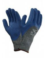 ANSELL-SCHNITTSCHUTZ-Handschuhe, Power Flex, 80-658, Blau/Grün