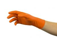 ANSELL-Einweg-Nitril-Einmal-Handschuhe, Microflex, 93-856, Pkg. Á 100 Stück, Orange