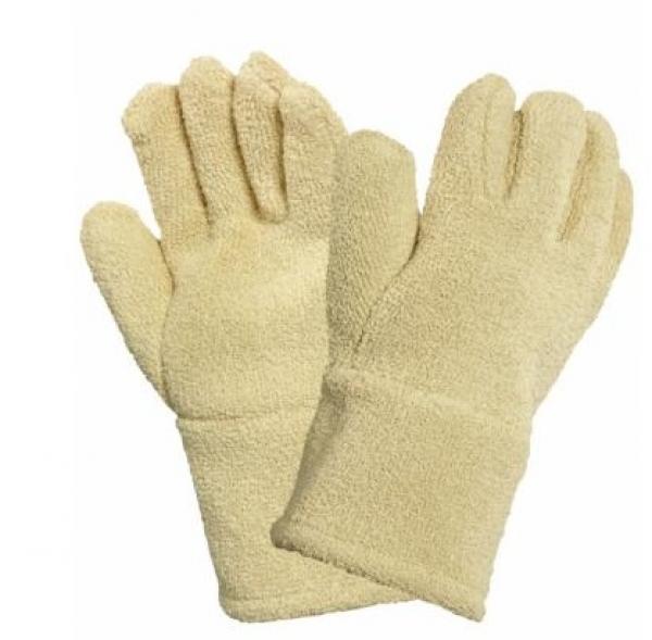 ANSELL-HITZESCHUTZ-Arbeits-Handschuhe, Comahot, gelb