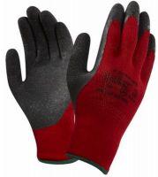 ANSELL-Schnittschutz-Arbeits-Handschuhe, K2000BR, Länge: 260 mm, schwarz/rot