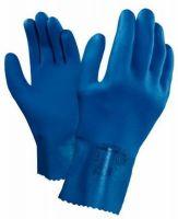 ANSELL-Chemikalien-Schutz-Arbeits-Handschuhe, Multiplus 27, Länge: 270 mm, blau