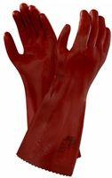 ANSELL-Chemikalien-Schutz-Arbeits-Handschuhe, Normal Plus 35, Länge: 350 mm, rot