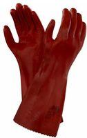 ANSELL-Chemikalien-Schutz-Arbeits-Handschuhe, Normal Plus 40, Länge: 400 mm, rot