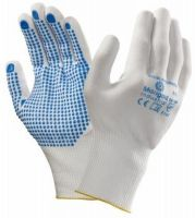 ANSELL-Strick-Arbeits-Handschuhe, Picolon Confort, weiß/blau