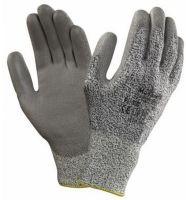ANSELL-SCHNITTSCHUTZ-Arbeits-Handschuhe, PU800, Länge: 260 mm, weiß/grau