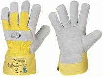 F-STRONGHAND, Rind-Spaltleder-Arbeits-Handschuhe, MAMMUT