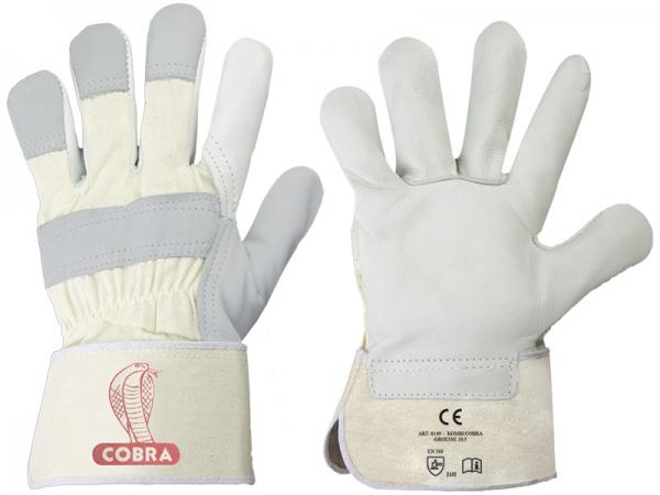 F-STRONGHAND Rindvoll-Leder-Arbeits-Handschuhe, KOMBI CALCUTTA, VE: 120 Paar