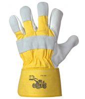F-STRONGHAND, Rind-Leder-Arbeits-Handschuhe, RADLADER